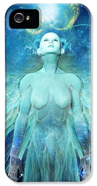 Creativity iPhone 5 Cases - Ascension iPhone 5 Case by John Edwards