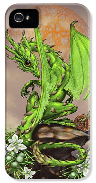 Asparagus Dragon IPhone 5 Case by Stanley Morrison