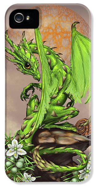 Asparagus Dragon IPhone 5 / 5s Case by Stanley Morrison