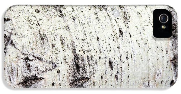 IPhone 5 Case featuring the photograph Aspen Tree Bark by Christina Rollo