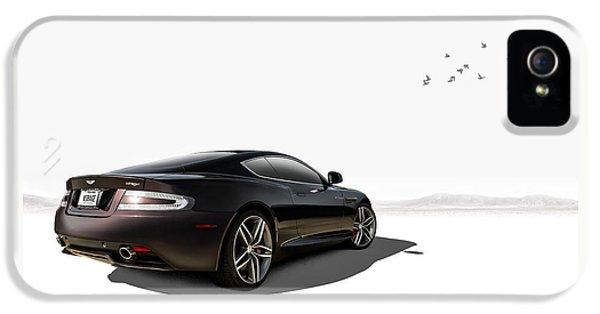 Aston Martin Virage IPhone 5 Case by Douglas Pittman