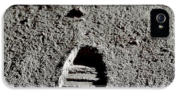 Astronaut Footprints On The Moon IPhone 5 Case by Detlev Van Ravenswaay