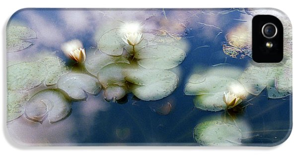 IPhone 5 Case featuring the photograph At Claude Monet's Water Garden 4 by Dubi Roman