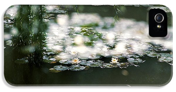 IPhone 5 Case featuring the photograph At Claude Monet's Water Garden 5 by Dubi Roman