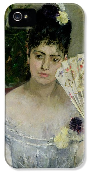 At The Ball IPhone 5 Case by Berthe Morisot