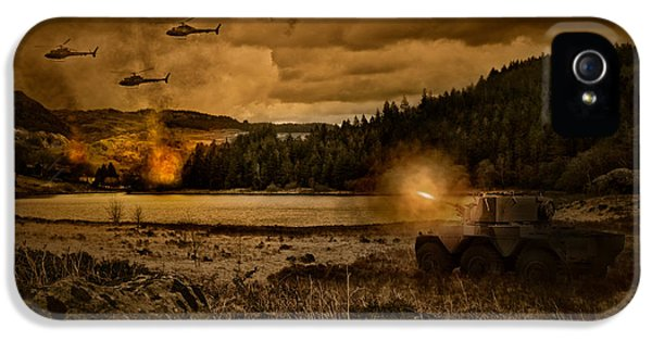 Attack At Nightfall IPhone 5 / 5s Case by Amanda Elwell