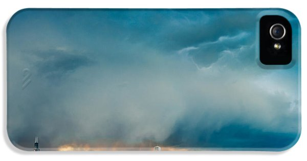 Attention Seeking Clouds IPhone 5 Case by Cory Dewald