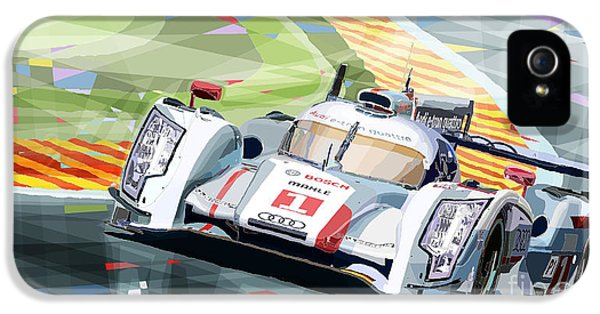 Audi R18 E-tron Quattro IPhone 5 Case by Yuriy  Shevchuk