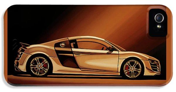 Audi R8 2007 Painting IPhone 5 Case