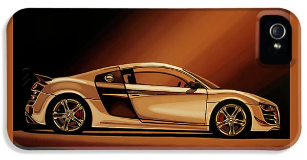 Audi R8 2007 Painting IPhone 5 Case by Paul Meijering
