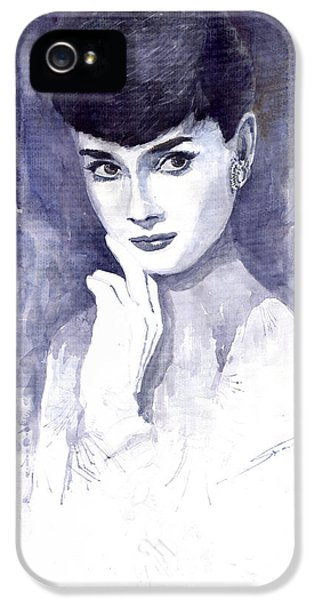 Audrey Hepburn  IPhone 5 / 5s Case by Yuriy  Shevchuk