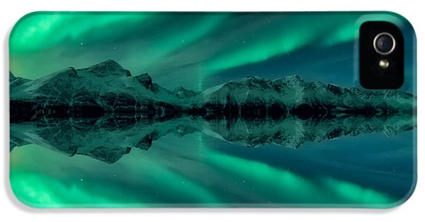 Aurora Square 2 IPhone 5 Case by Tor-Ivar Naess