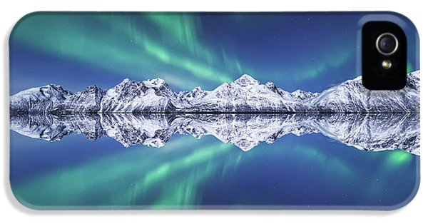 Aurora Square IPhone 5 Case by Tor-Ivar Naess