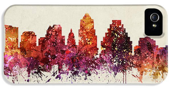 Austin Cityscape 09 IPhone 5 / 5s Case by Aged Pixel