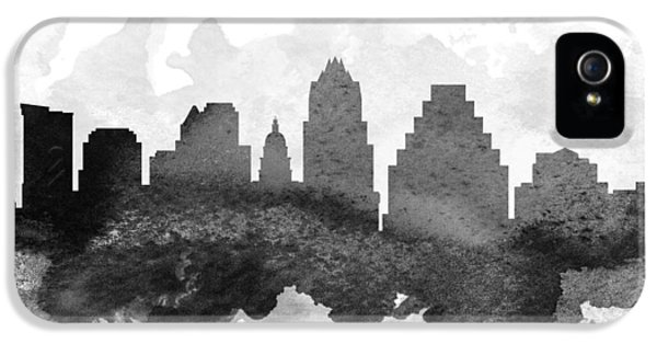 Austin Cityscape 11 IPhone 5 Case by Aged Pixel