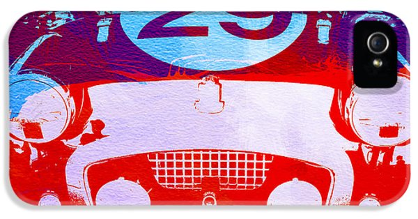 Competition iPhone 5 Cases - Austin Healey bugeye iPhone 5 Case by Naxart Studio