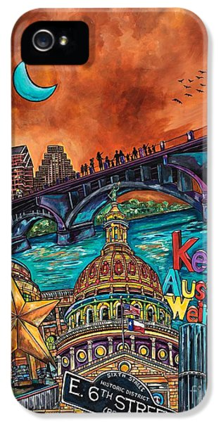 Austin Keeping It Weird IPhone 5 Case