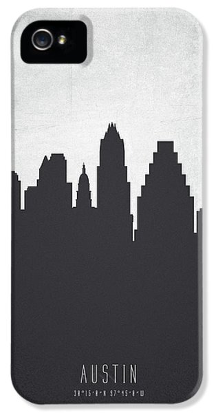 Austin Texas Cityscape 19 IPhone 5 / 5s Case by Aged Pixel