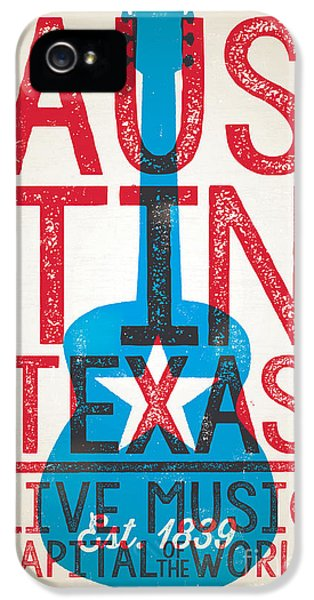 Johnny Cash iPhone 5 Case - Austin Texas - Live Music by Jim Zahniser