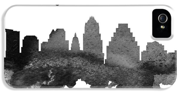 Austin Texas Skyline 18 IPhone 5 Case by Aged Pixel
