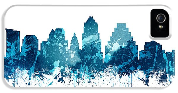 Austin Texas Skyline 19 IPhone 5 / 5s Case by Aged Pixel