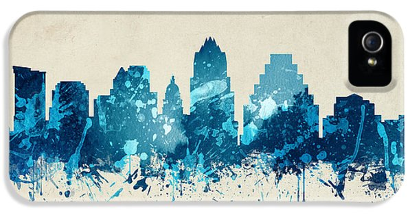 Austin Texas Skyline 20 IPhone 5 / 5s Case by Aged Pixel