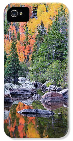 Autumn At Bear Lake IPhone 5 Case