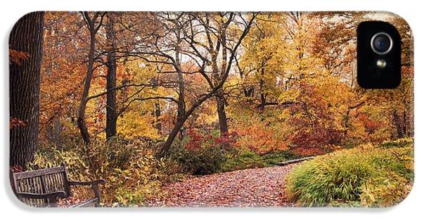 Autumn Azalea Garden IPhone 5 Case