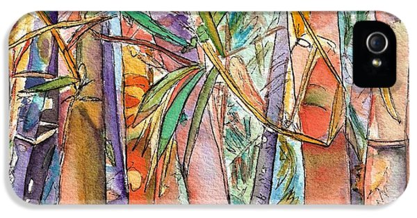 Autumn Bamboo IPhone 5 / 5s Case by Marionette Taboniar