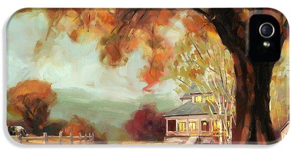 Geese iPhone 5 Case - Autumn Dreams by Steve Henderson