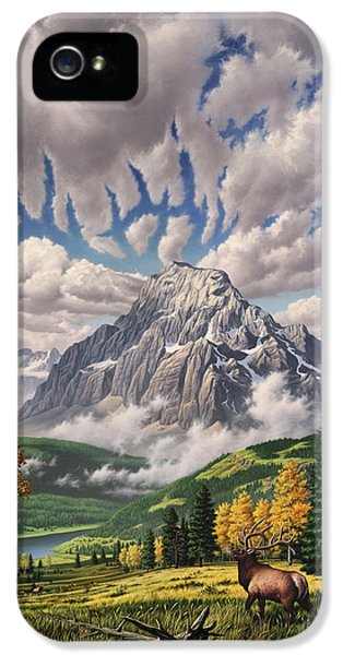 Autumn Echos IPhone 5 Case by Jerry LoFaro