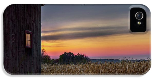 IPhone 5 Case featuring the photograph Autumn Glow by Bill Wakeley