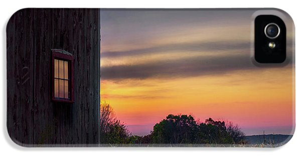 IPhone 5 Case featuring the photograph Autumn Glow Square by Bill Wakeley