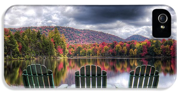 IPhone 5 Case featuring the photograph Autumn On West Lake by David Patterson