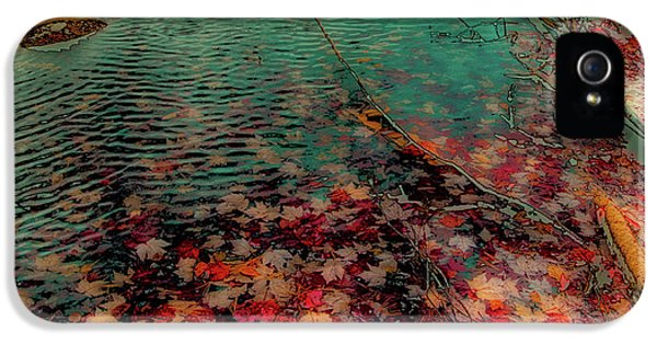 IPhone 5 Case featuring the photograph Autumn Submerged by David Patterson