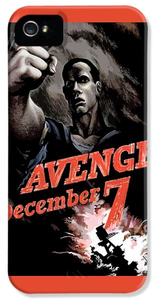 Avenge December 7th IPhone 5 Case by War Is Hell Store