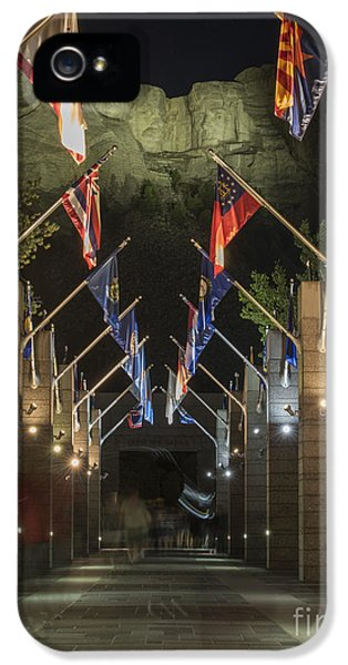 Avenue Of Flags IPhone 5 Case by Juli Scalzi
