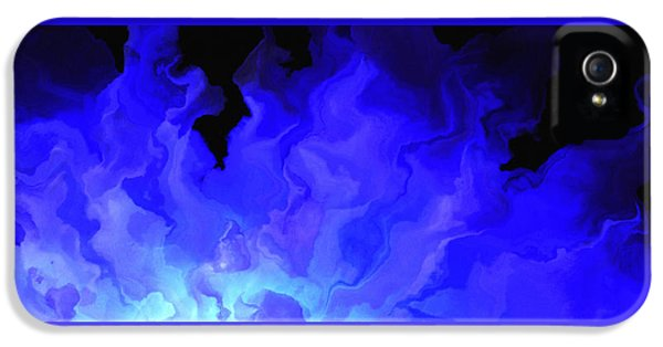 Awake My Soul - Abstract Art IPhone 5 Case by Jaison Cianelli