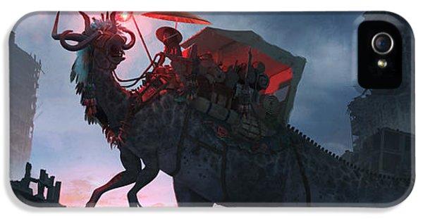 Ayanami Sunrider IPhone 5 Case by Guillem H Pongiluppi