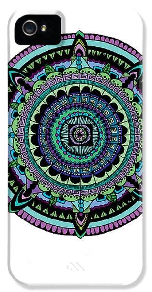 Azteca IPhone 5 Case by Elizabeth Davis