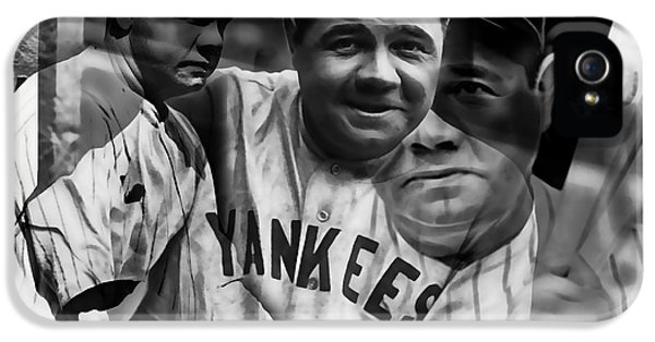 Babe Ruth Collection IPhone 5 Case