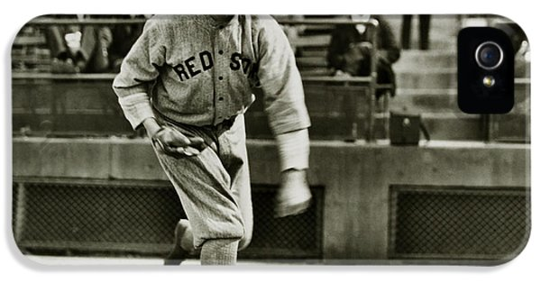 Babe Ruth Pitching IPhone 5 Case