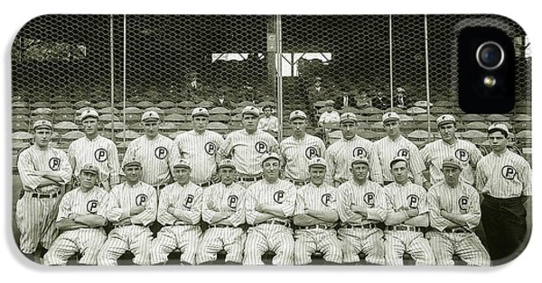 Babe Ruth Providence Grays Team Photo IPhone 5 Case