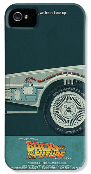 Back To The Future Delorean Part 1 IPhone 5 Case