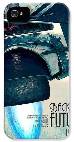 Back To The Future Delorean Part 2 IPhone 5 Case