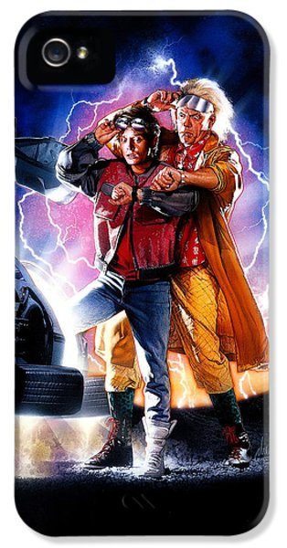 Back To The Future Part II 1989 IPhone 5 Case