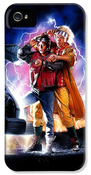 Back To The Future Part II 1989 IPhone 5 Case by Caio Caldas