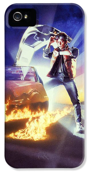 Back To The Future IPhone 5 Case