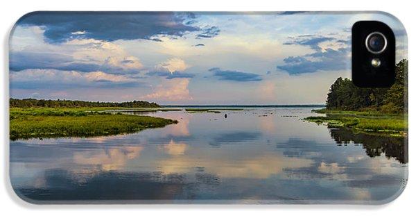 Backwater Sunset IPhone 5 Case