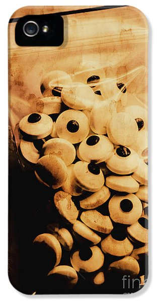 Eyeball iPhone 5 Case - Bag Of Eyes by Jorgo Photography - Wall Art Gallery